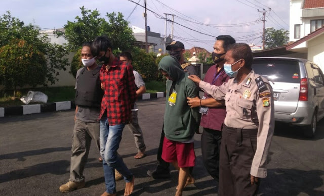 Bobol Mini Market, Polsek Kedung Waringin Tangkap Para Pelaku Dalam Waktu Dua Jam
