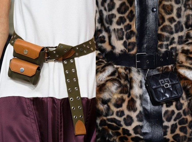 2019 Winter Women's Waist Handbags Fashion Trends