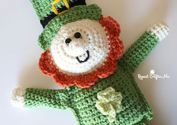 Free St. Patrick's day leprechaun pattern