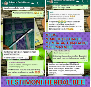 Herbal bee penyumbatan tuba falopi