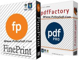 FinePrint 9.34 and pdfFactory Pro 6.34 Full Version