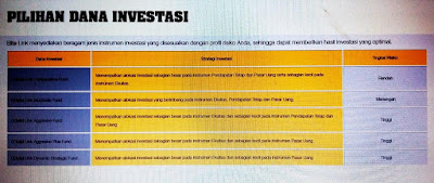 Pilihan dana untuk investasi melalui asuransi