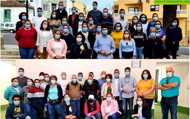 Barlovento inicia simultáneamente dos programas formativos en alternancia con el empleo