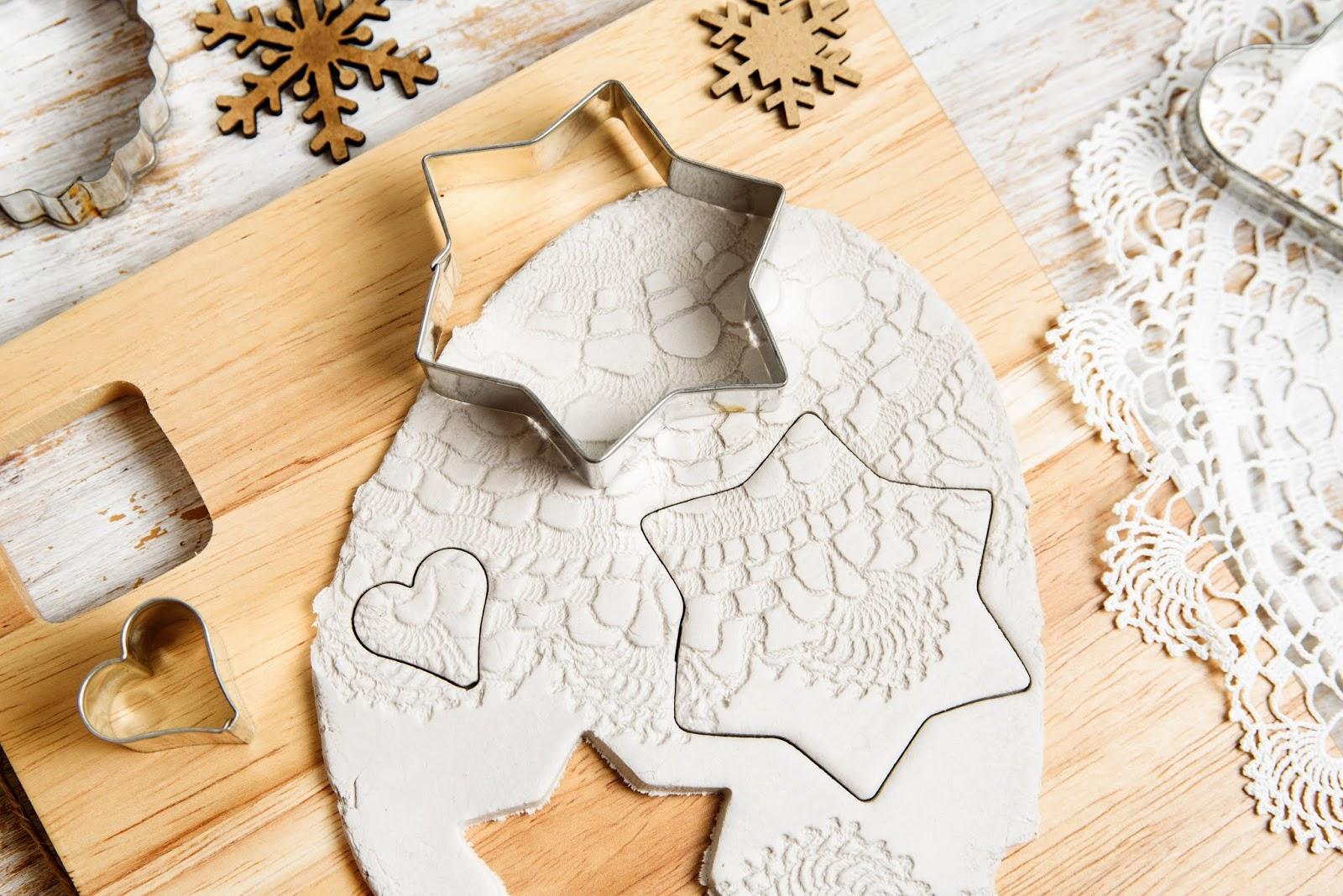 Manualidades navideñas fáciles y rápidas  con pasta de modelar