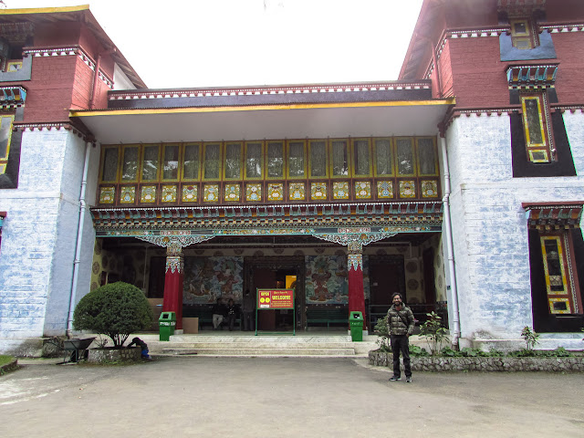 Namgyal Institute of Tibetology and Do Drul Chorten