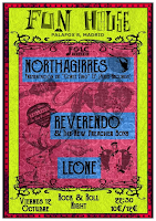 Concierto de Northaguirres, Leone y Reverendo & The New Preacher Boys en Fun House