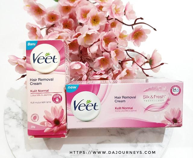 #BeAConfidentYou dengan Veet Hair Removal