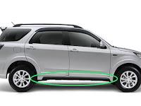 Harga dan Fisik : Carbon Side Skirt LH Daihatsu Terios Adventure 2015