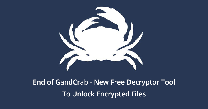 GandCrab  - End 2Bof 2BGandCrab - New Free Decryptor Tool for notorious GandCrab Ransomware
