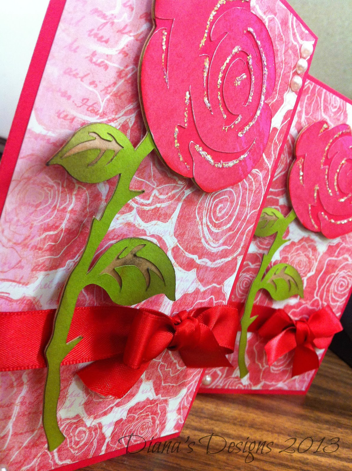 Handmade Valentines Day Cards With Roses Toronto Teacher Mom