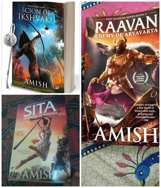 Scion of Ikshvaku, Sita Warrior of Mithila, Raavan Enemy of Aryavarta