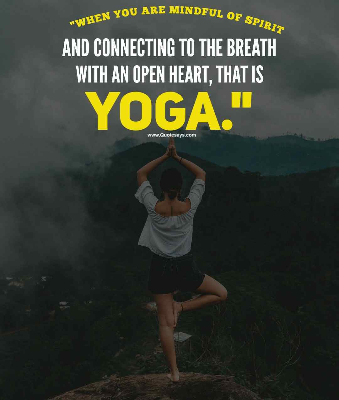Yoga quotes. Inspired yoga quotes