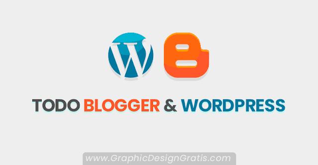 Las mejores Plantillas, plugins, gadgets, trucos, consejos y tutoriales para blogger y Wordpress