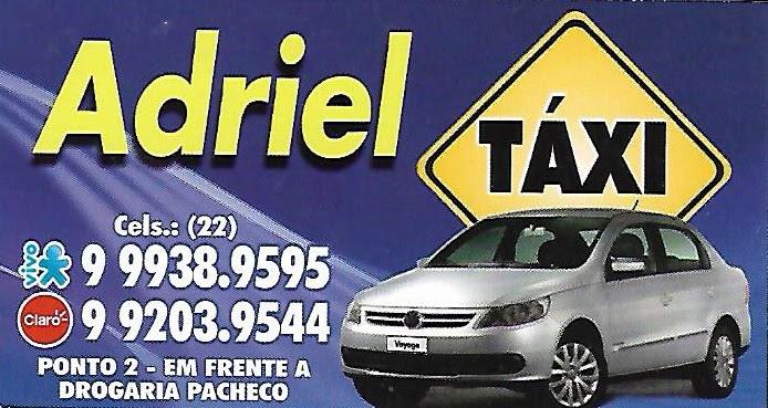 Taxi Ariel - Taxista em Itaperuna