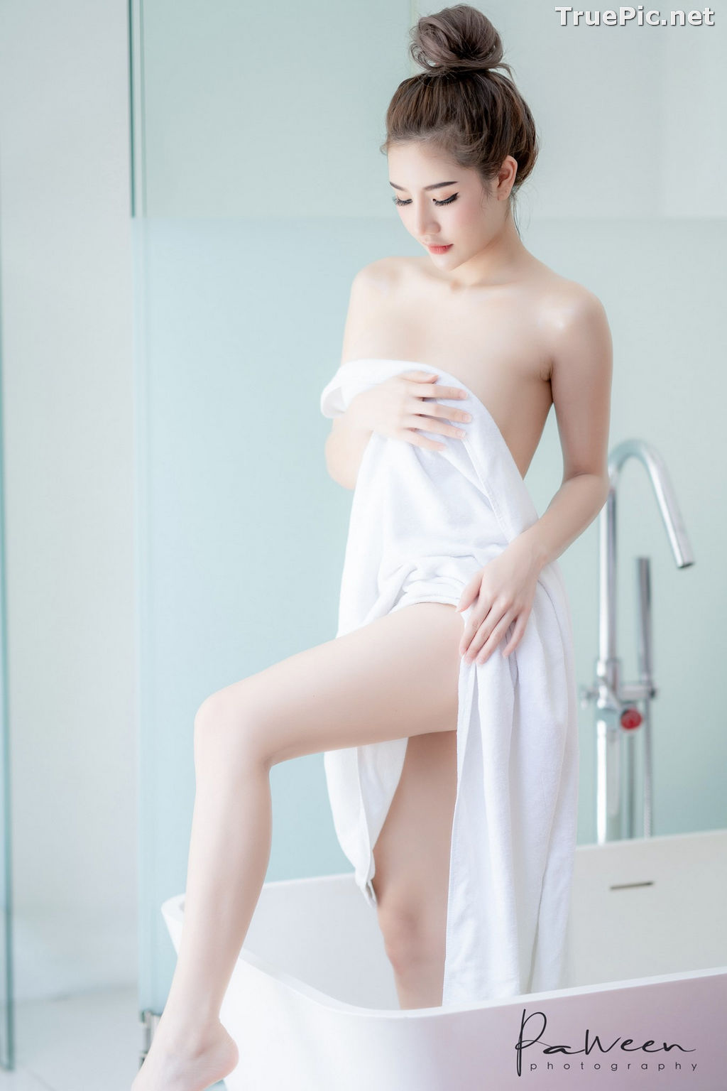 Image Thailand Model - Atittaya Chaiyasing - Take Shower After a Nice Day - TruePic.net - Picture-6