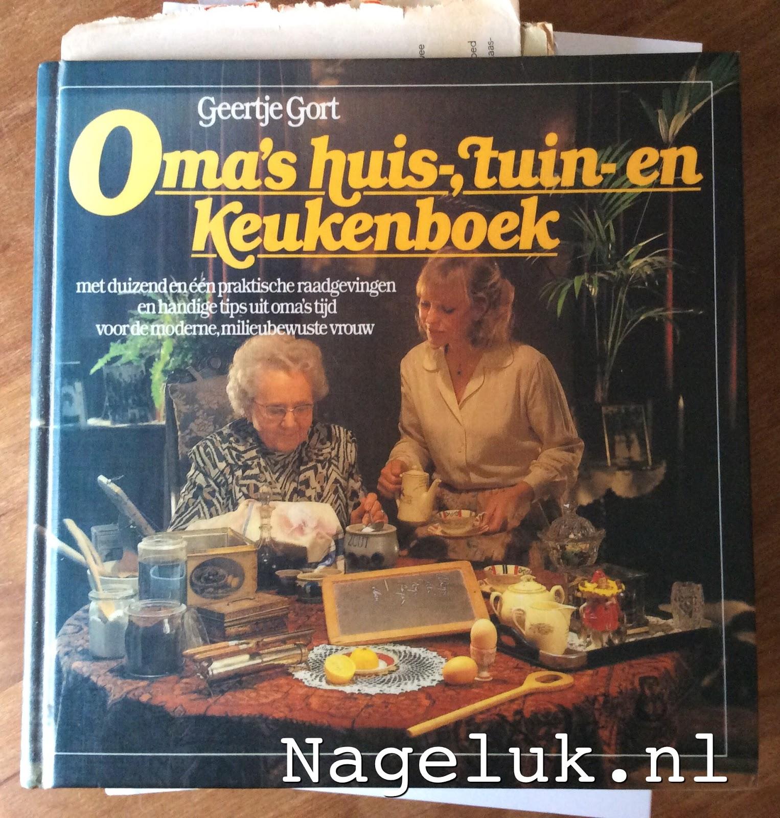 De Tipjes Encyclopedie Omas Huis Tuin En Keukenboek