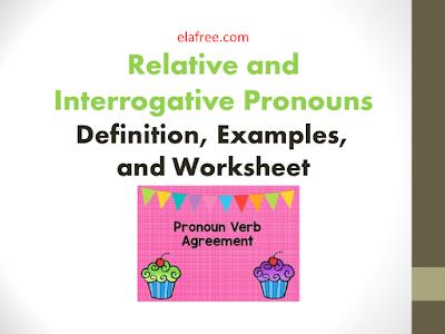 Relative and Interrogative Pronouns