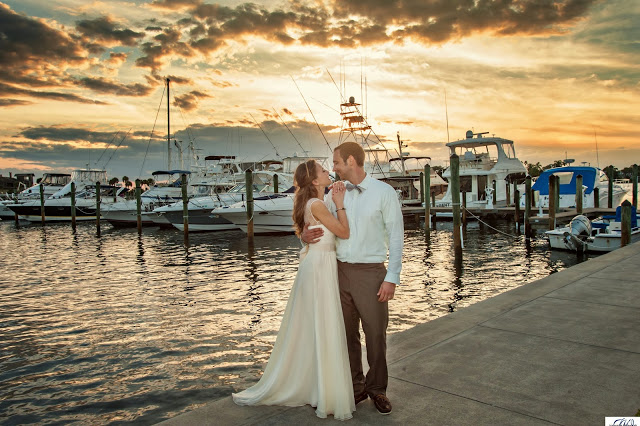 Wedding Photography at the Eau Gallie Yacht Club