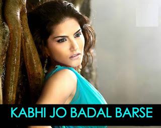 Kabhi Jo Badal Barse Lyrics-Jackpot
