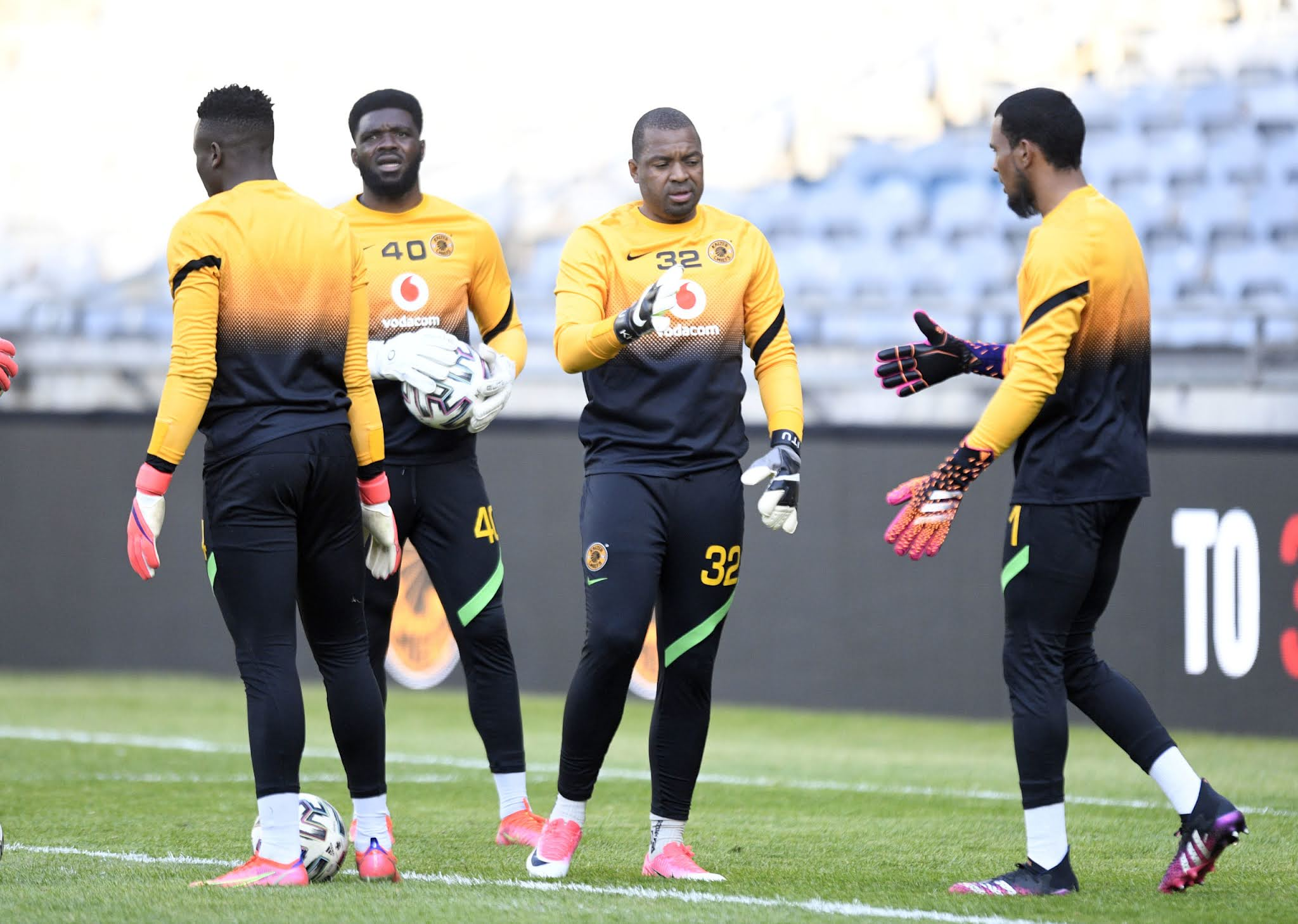 Chiefs' goalkeepers