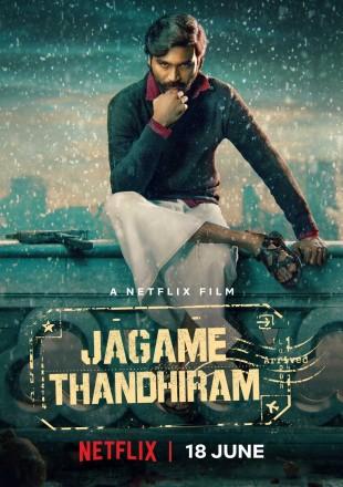 Jagame Thandhiram 2021 Hindi HDRip 720p