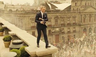 Spectre Daniel Craig Mexico City Day of the Dead