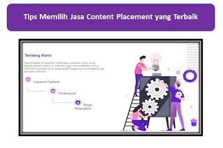 Tips Memilih Jasa Content Placement yang Terbaik