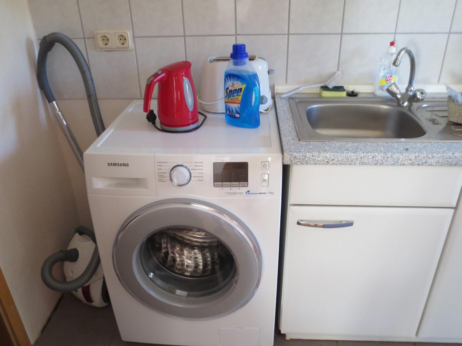 Waschmaschine Küchenzeile Integrieren