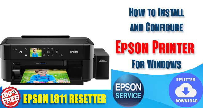 Epson L811 Adjustment Program