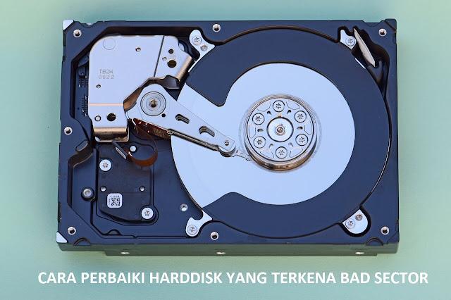 sector bad pada harddisk dan cara memperbaikinya