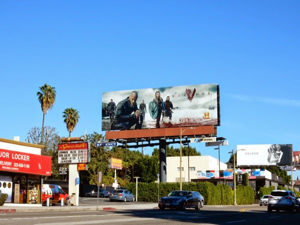 Vikings season 3 billboard