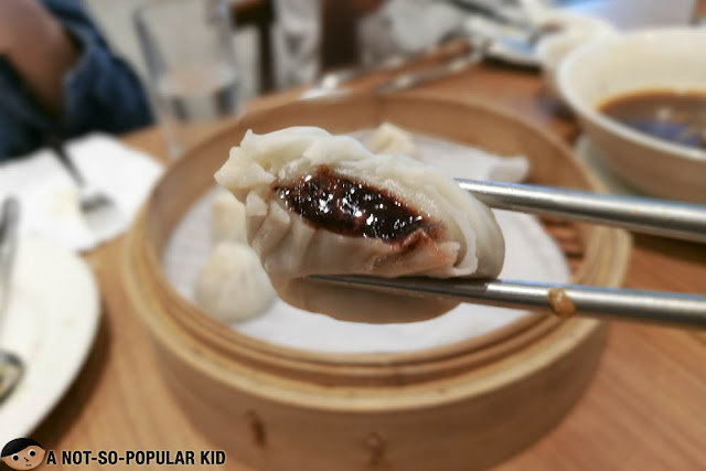Chocolate Lava Xiao Long Bao of Din Tai Fung