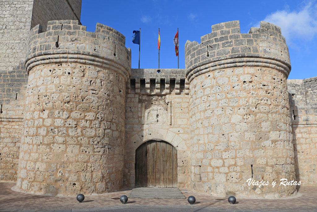 Entrada al Castillo de Portillo, Valladolid