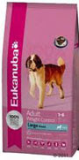 Picture of Eukanuba Adult Large Breed Weight Control Dry Dog Food