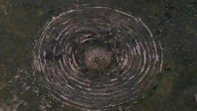 تصوير آثار هبوط طبق طائر في جمهورية بورياتيا