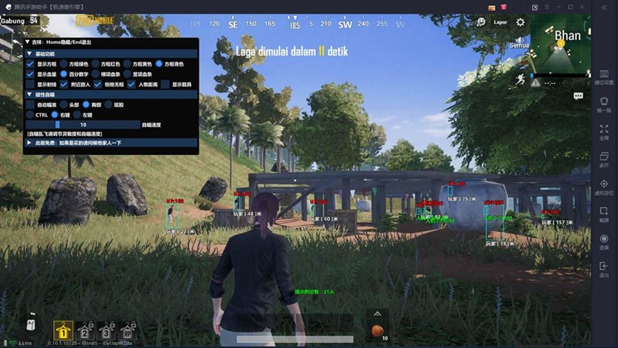 download cheats pubg mobile tencent gaming buddy aimbot