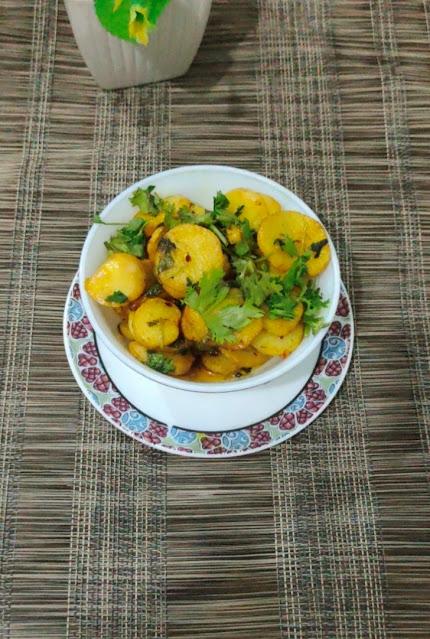 dry arbi recipe