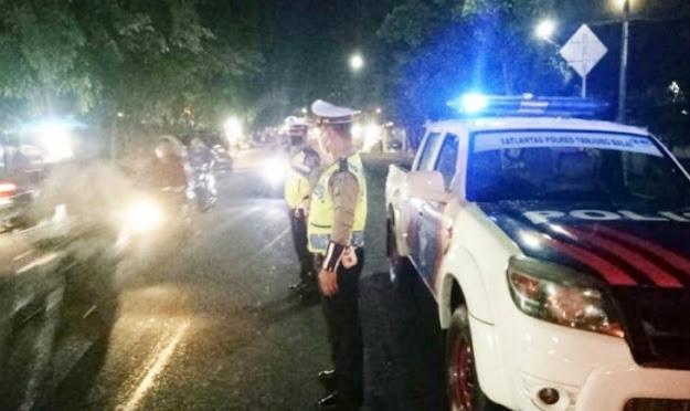 Sosialisasi Menuju Normal Baru, Polres Tanjungbalai Public Speaking Malam