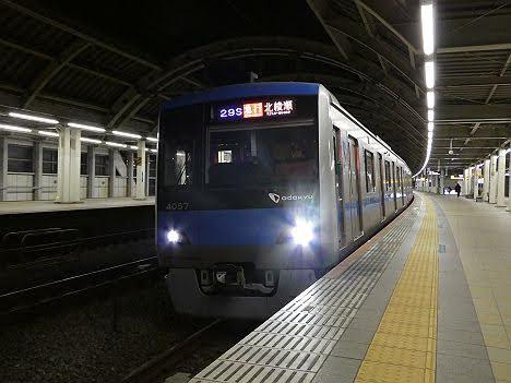 【ダイヤ改正で代走!】小田急4000形の急行 北綾瀬行き