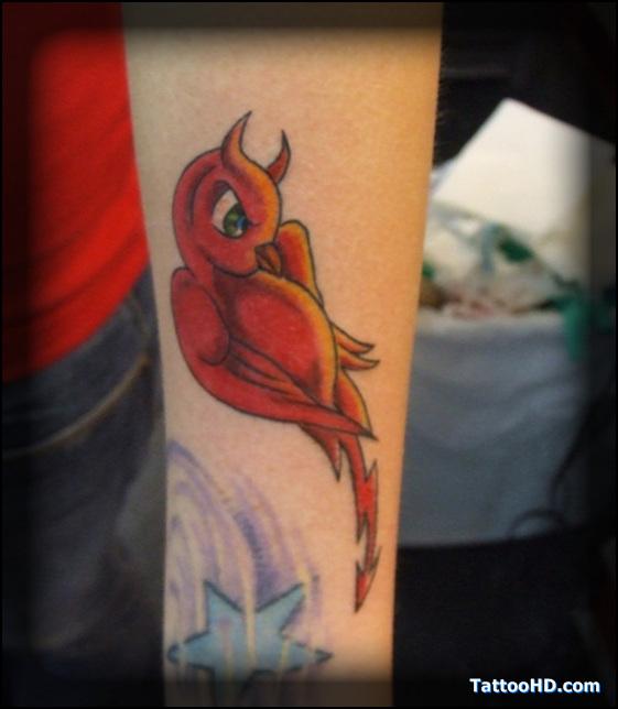 My Tattoo Designs: Baby Devil Tattoos