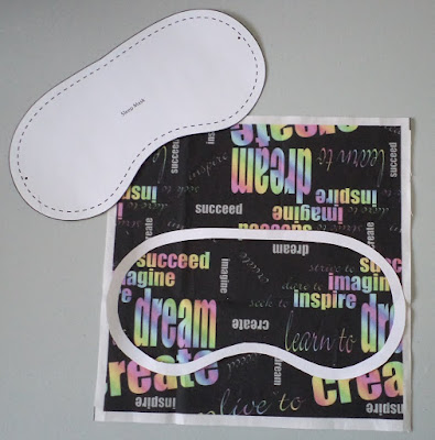 Sleep Mask crafted by eSheep Designs