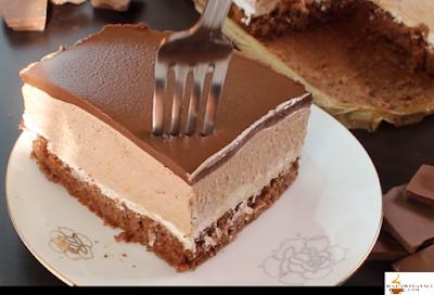 كيكة موس الشوكولاته