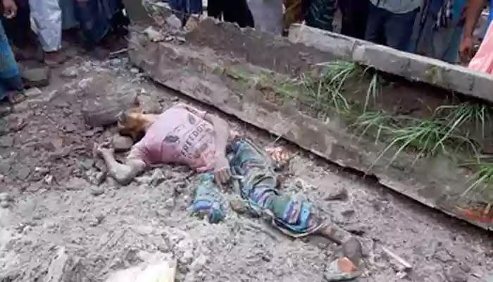 গাইবান্ধায় বিল্ডিং ধসে নির্মাণ শ্রমিকসহ নিহত ২