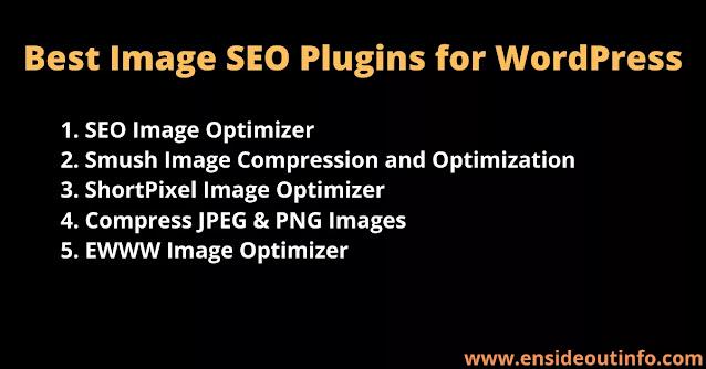 5-Best Image SEO Plugins for WordPress