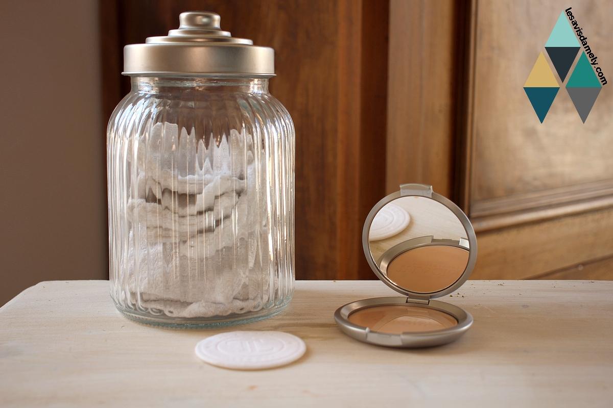 revue fond teint poudre compacte sable t leclerc