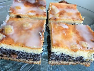 Ciasto z serem i makiem