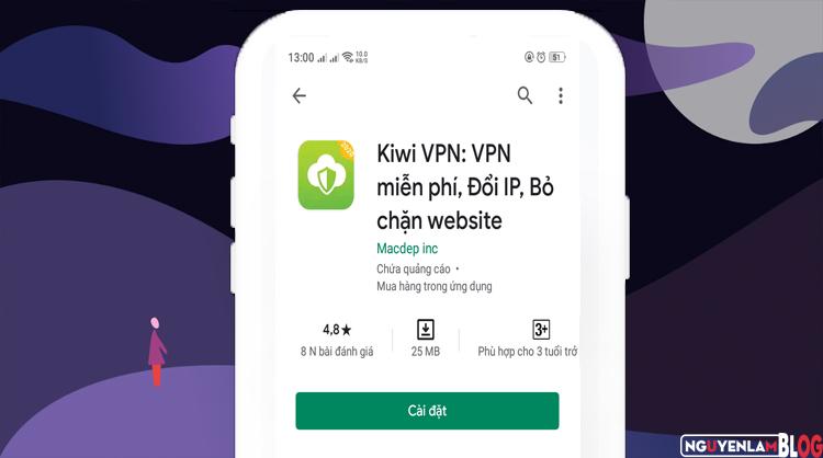 Tìm Kiwi VPN