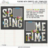 template : Playing With Confetti 05 by Akizo Designs
