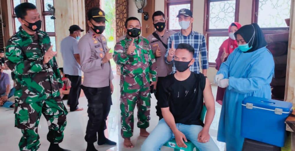 Vaksin Covid-19 di Kuala Jambi Gencar Jemput Bola