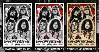 "Pantera ""Cowboys From Hell"" 30th Anniversary Screen Print by Paul Jackson x Collectionzz"